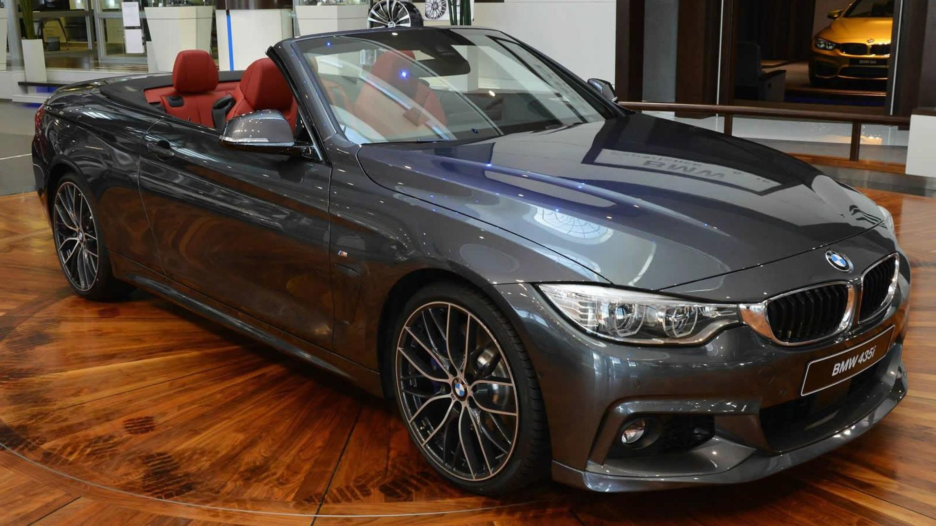 BMW Series Convertible With M And AC Schnitzer Parts Displayed - Bmw 435i convertible m sport