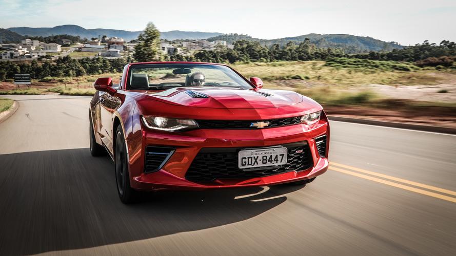 Chevrolet anuncia chegada do Camaro SS 2018 neste mês