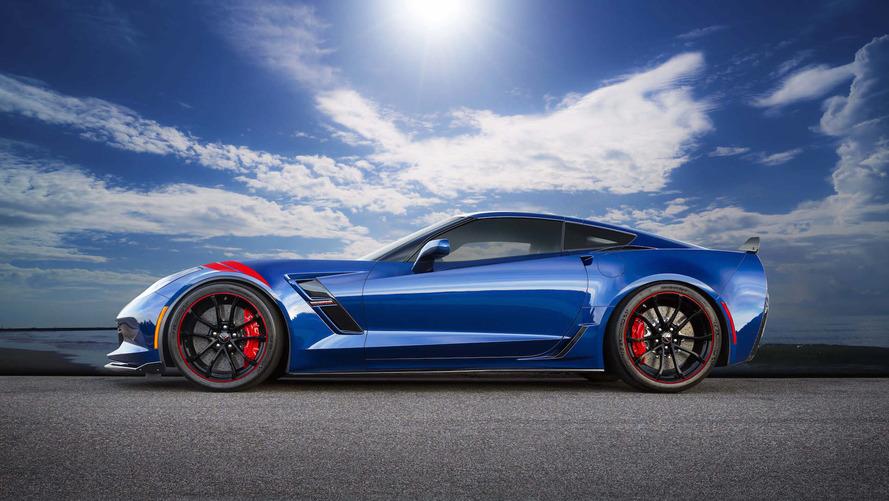 Chevrolet Corvette Grand Sport Heritage Edition - Seulement pour le Japon !