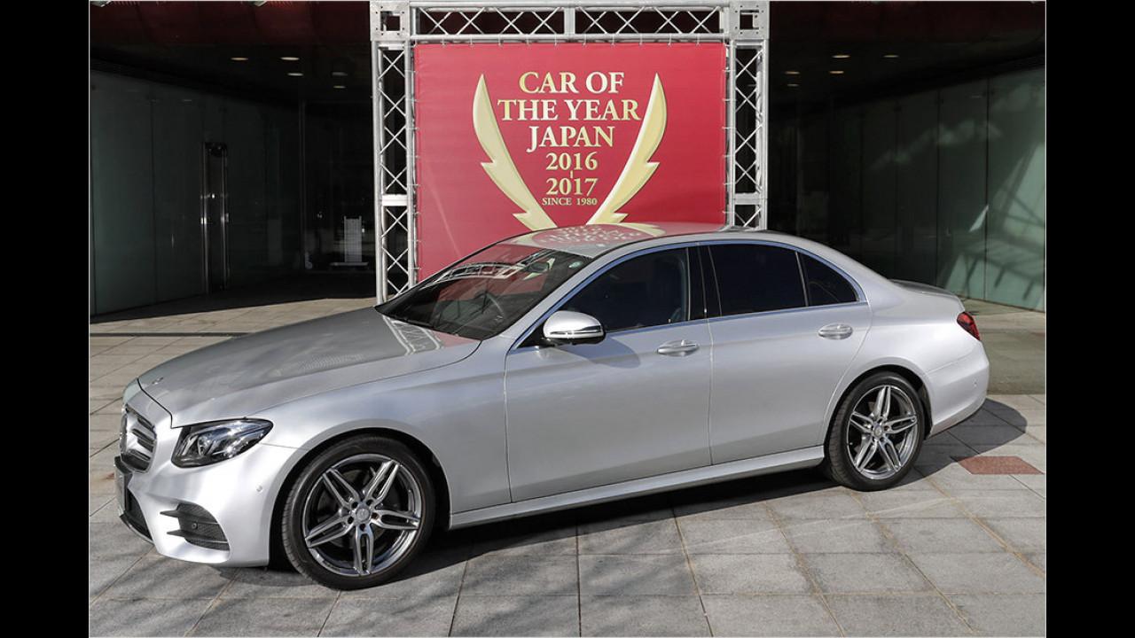 Platz Fünf: Mercedes E-Klasse