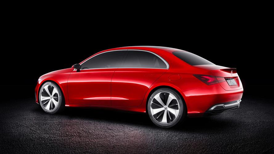 Novo Mercedes Classe A terá motores 1.2 e 1.4 de origem Renault Mercedes-benz-concept-a-sedan