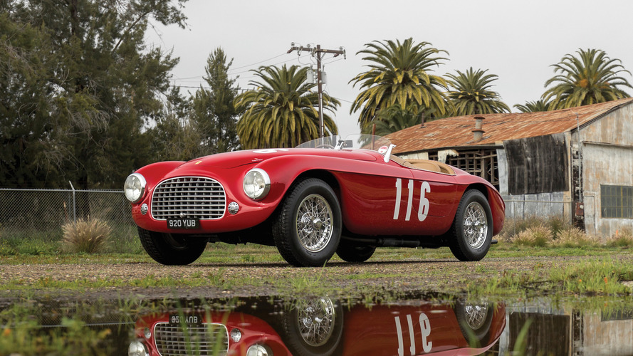 Historic Ferrari 166 MM Barchetta could grab $10 million at auction