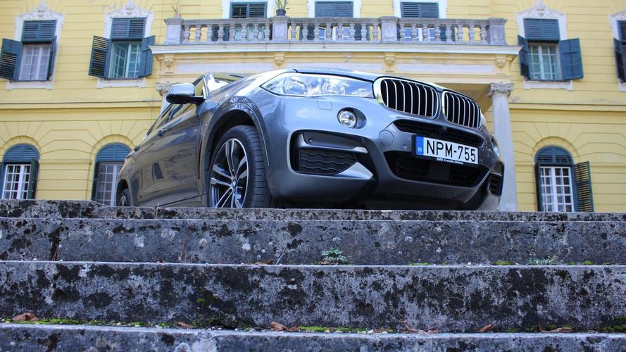 BMW X6 M50d Teszt