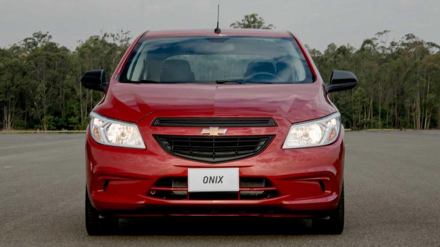 Chevrolet Onix tem recall por problema nos pneus