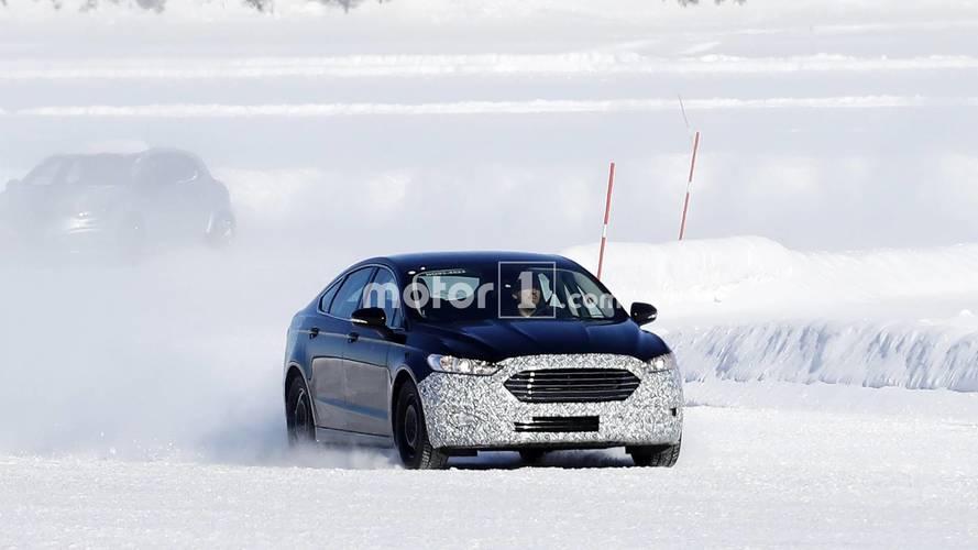Ford Mondeo facelift photos espion