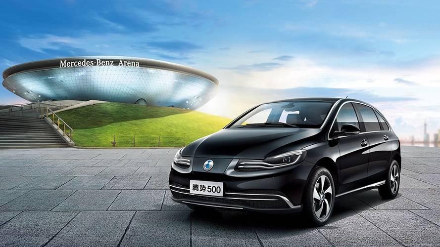 Denza 500, l'elettrica Daimler per la Cina