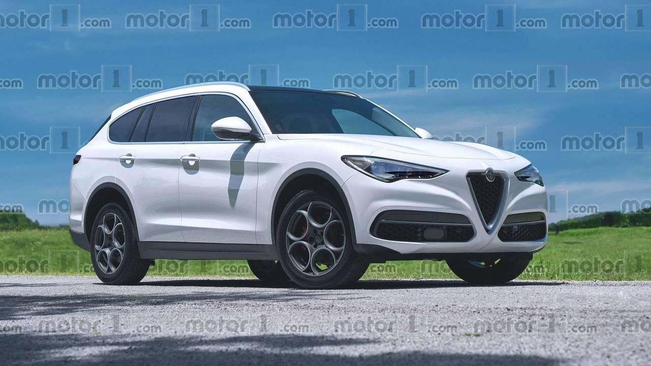 2020 Alfa Romeo large SUV render