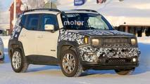 Jeep Renegade Spy Photos