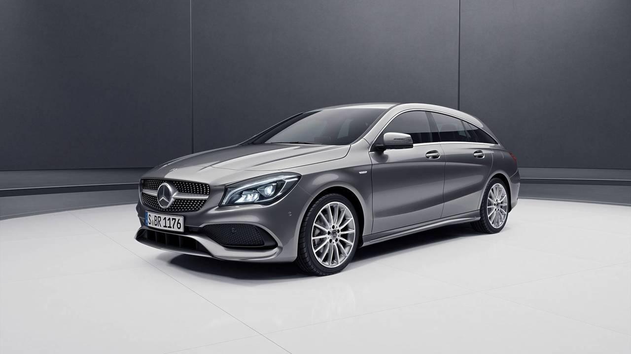 Mercedes CLA Shooting Brake Night Edition