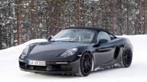 Porsche 718 Boxster Spyder Casus Fotoğraflar