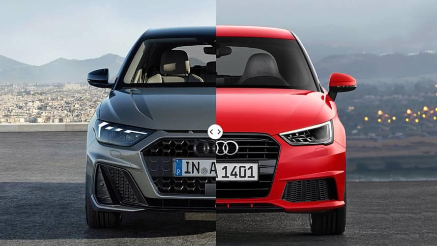 Novo Audi A1 2019: veja todas as mudanças lado a lado