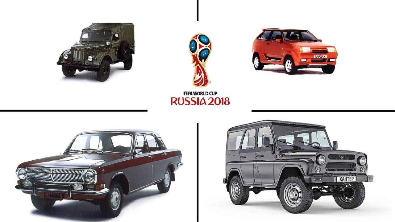 soviet cars were weird celebrating the 2018 world cup in russia. Black Bedroom Furniture Sets. Home Design Ideas