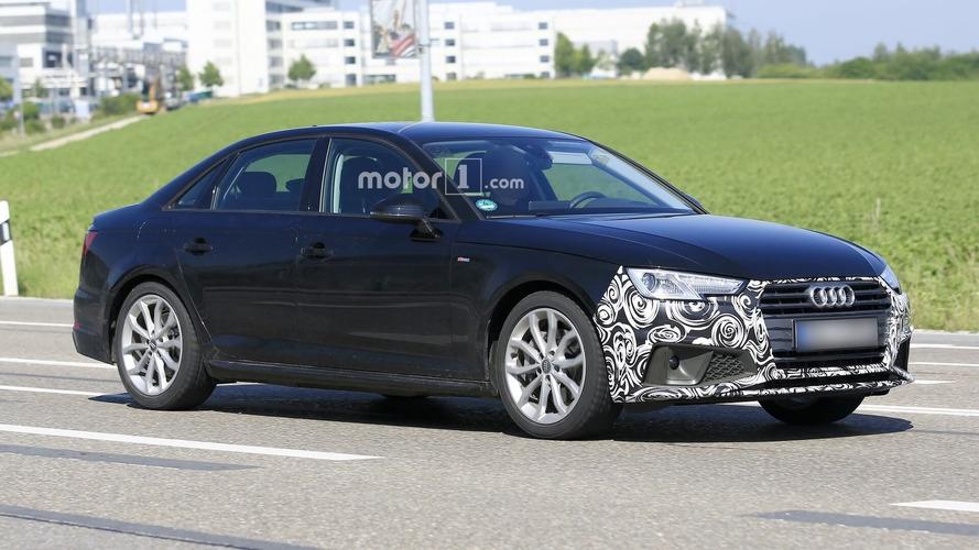 Flagra: Audi A4 reestilizado aparece em testes com nova grade