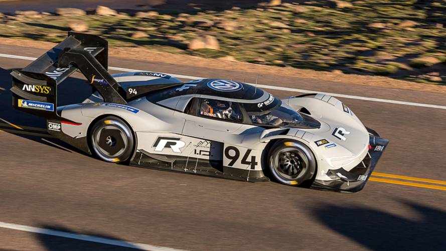 VW I.D. R Pikes Peak Quickest In Qualifying Session