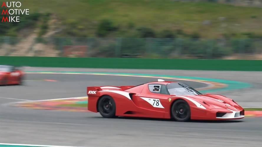 Ferrari FXX Sounds Amazing Throughout Its Entire RPM Range