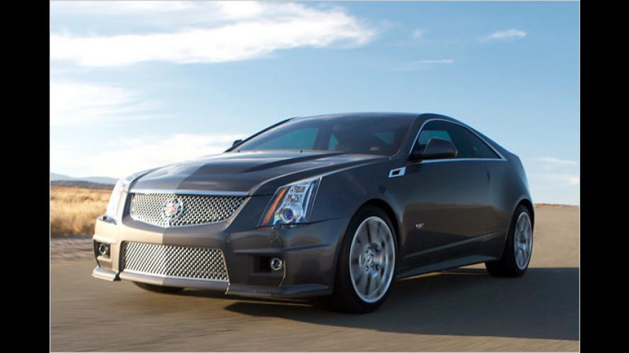 Cadillac CTS-V Coupé mit 564 PS starkem Kompressor-V8