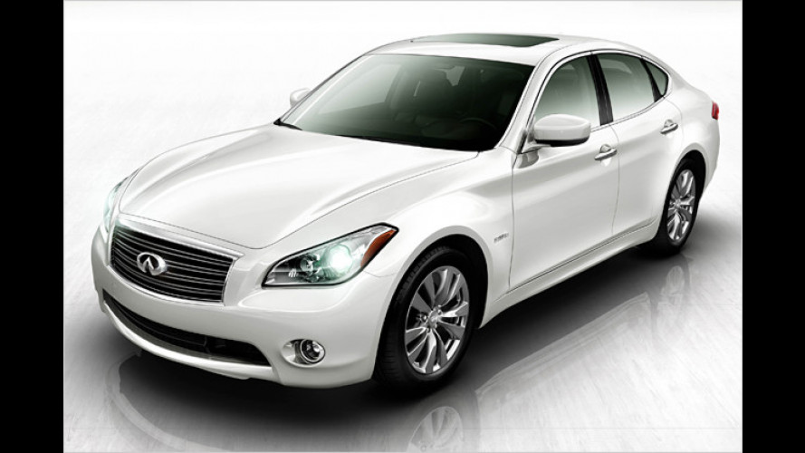 Infiniti: Der M35 Hybrid kommt im Frühjahr 2011