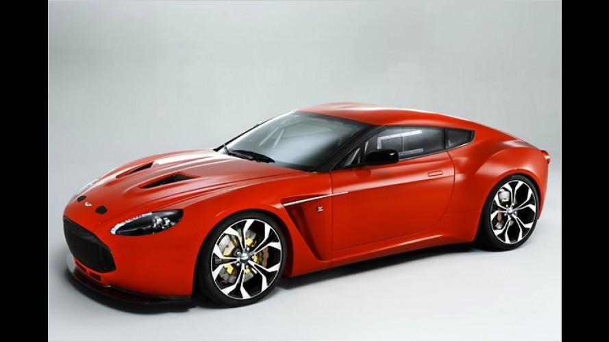 Brutal und elegant: Aston Martin V12 Zagato