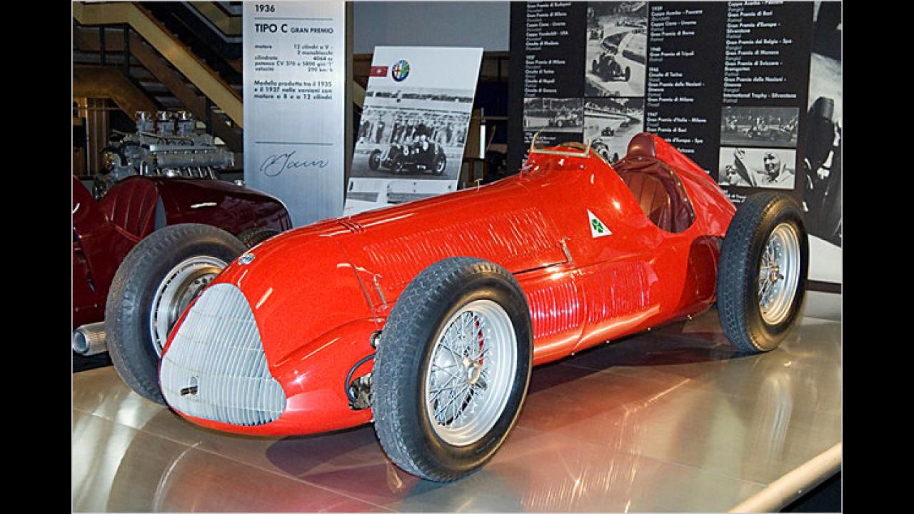 Alfa Gran Premio Tipo 158 Alfetta (1937)
