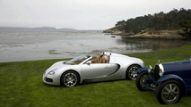 Bugatti Veyron 16.4 Grand Sport Roadster At Pebble Beach