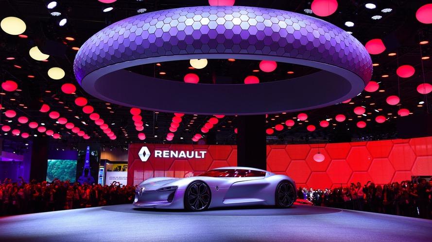 Renault Trezor au Mondial 2016