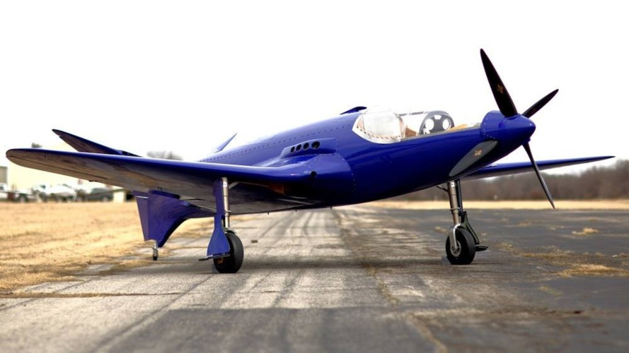Bugatti 100P replica airplane crashes killing its designer and builder
