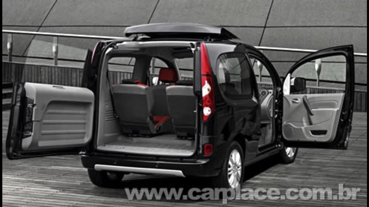 Novo Renault Kangoo Compact be bop - Versão tem abertura traseira do teto