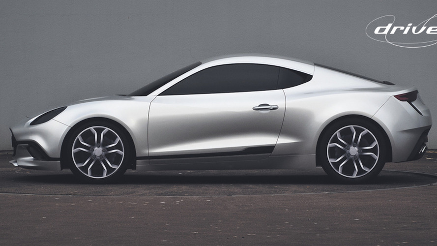 This is the Caterham-Renault joint sports car that never happened