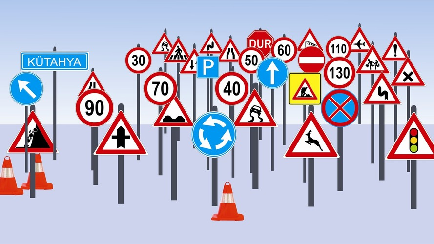 Bir kavşaktaki trafik levhalarını kaldırırsanız ne olur?