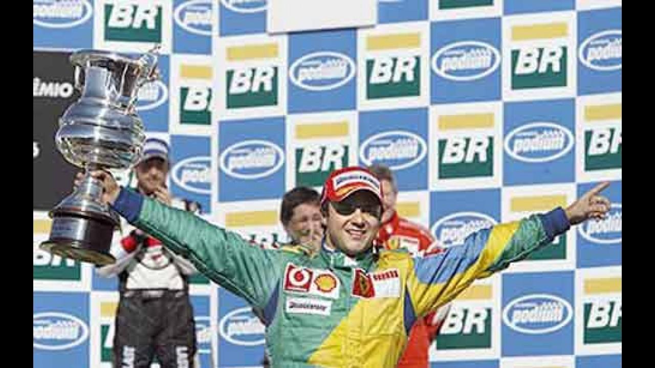 Ferrari renova contrato de Felipe Massa até o fim da temporada de 2010