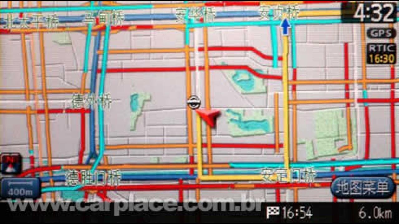 Na China: Nissan Teana ganha GPS com informações do trânsito em tempo real