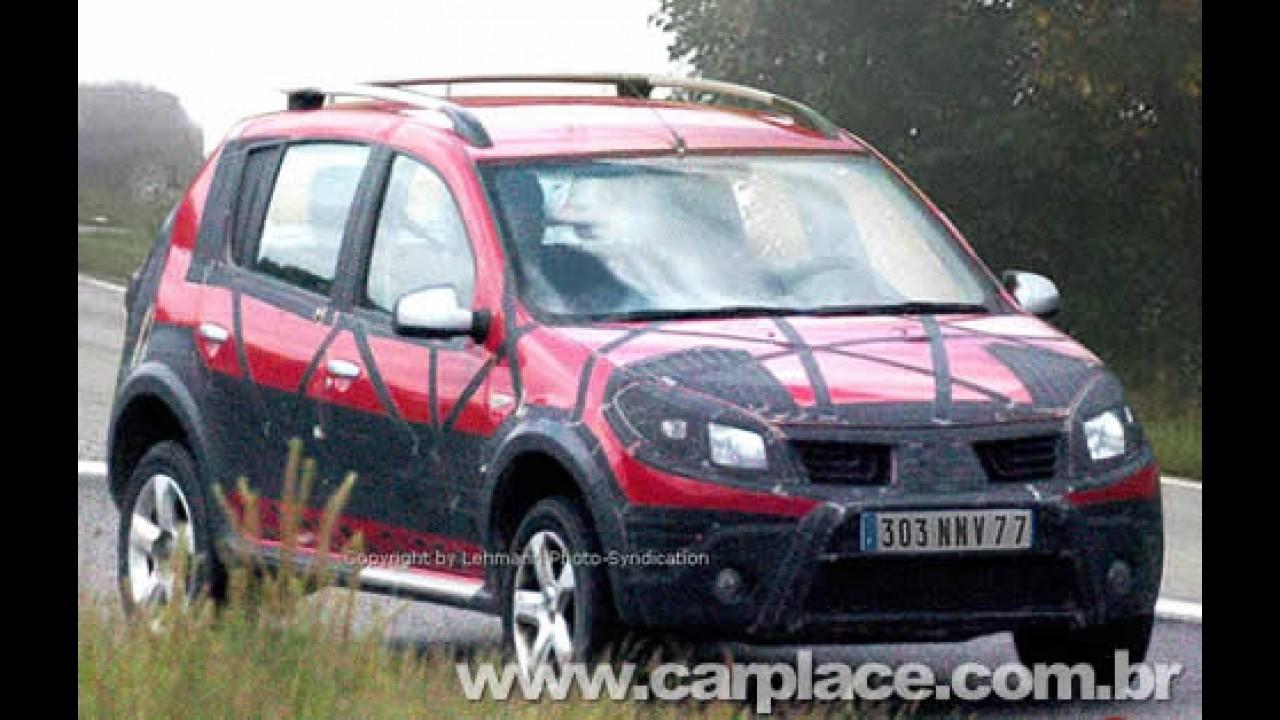 Revista mostra Sandero Off-Road - Rival para Ford Ecosport ou Palio Adventure?