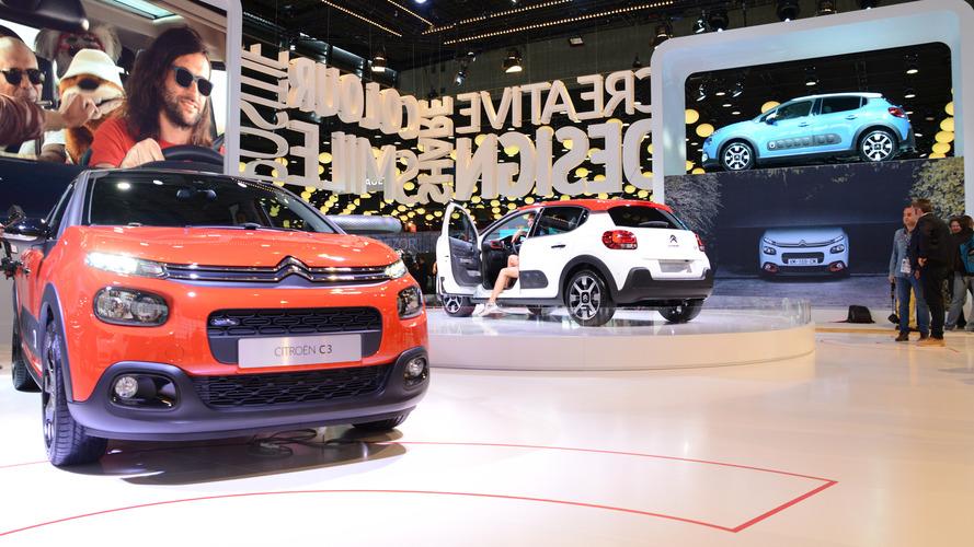 Première sortie en public pour la Citroën C3 au Mondial