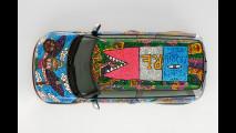 MINI Clubman dipinta da Robert Combas