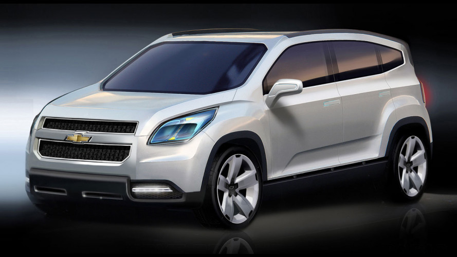 Chevrolet Orlando al Salone di Parigi