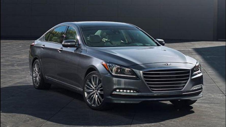 Hyundai sfida le auto premium tedesche