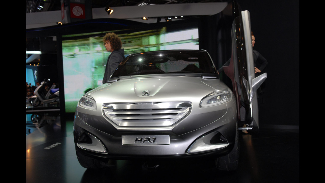 Peugeot HR1 al Salone di Parigi 2010