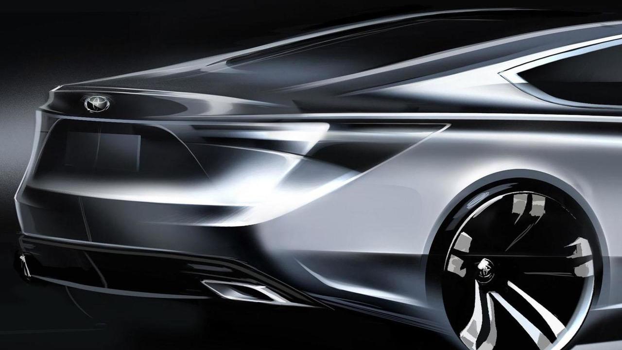 2013 Toyota Avalon teaser image 27.3.2012