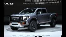 Nissan pode lançar versão de produção do conceito Titan Warrior