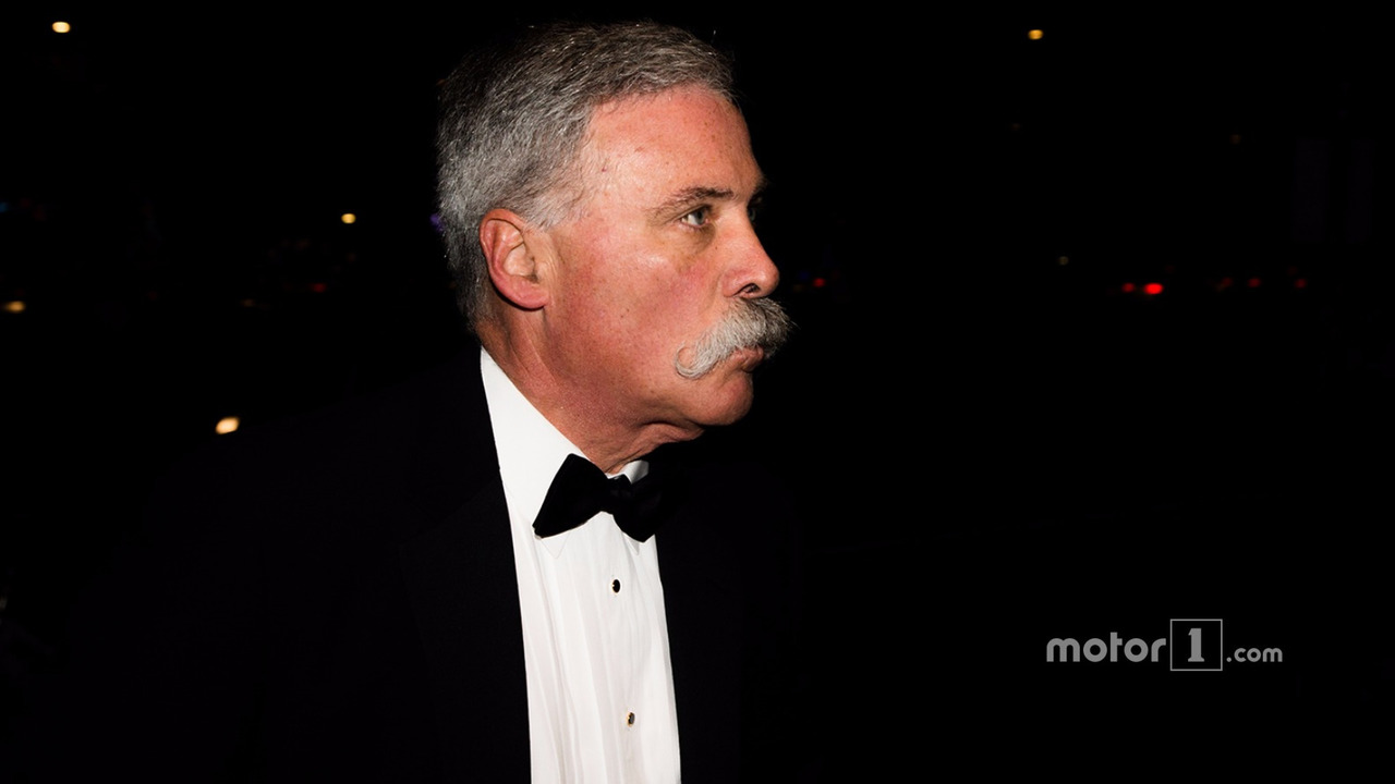 Chase Carey, chairman of Formula One Group