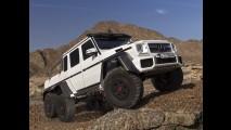 Mercedes-Benz confirma produção do monstruoso G63 AMG 6x6