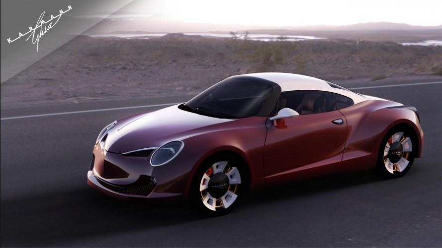 Kharmann-Ghia tem planos de voltar ao mercado