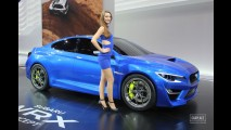 Salão de Frankfurt: Subaru WRX Concept antecipa nova geração do esportivo