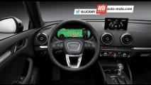 Audi A3 reestilizado terá novidades na dianteira e na cabine - veja projeções