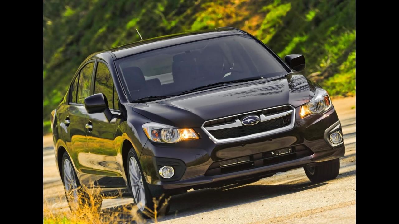 Subaru: plano de crescimento prevê quatro novos modelos até 2016