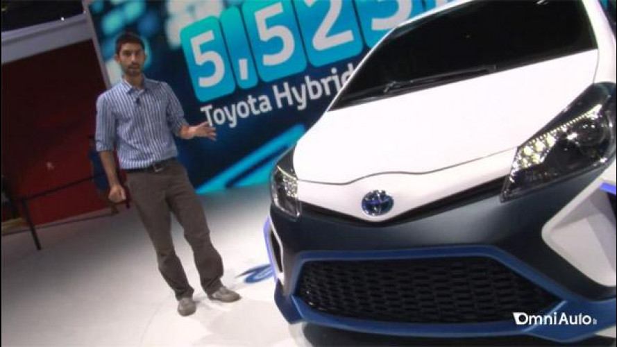 Salone di Francoforte: come la Toyota Yaris ibrida è diventata sportiva con 420 CV [VIDEO]