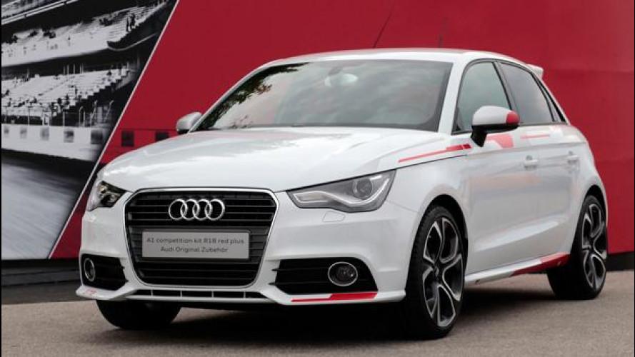 Audi A1 con pacchetto R18 competition