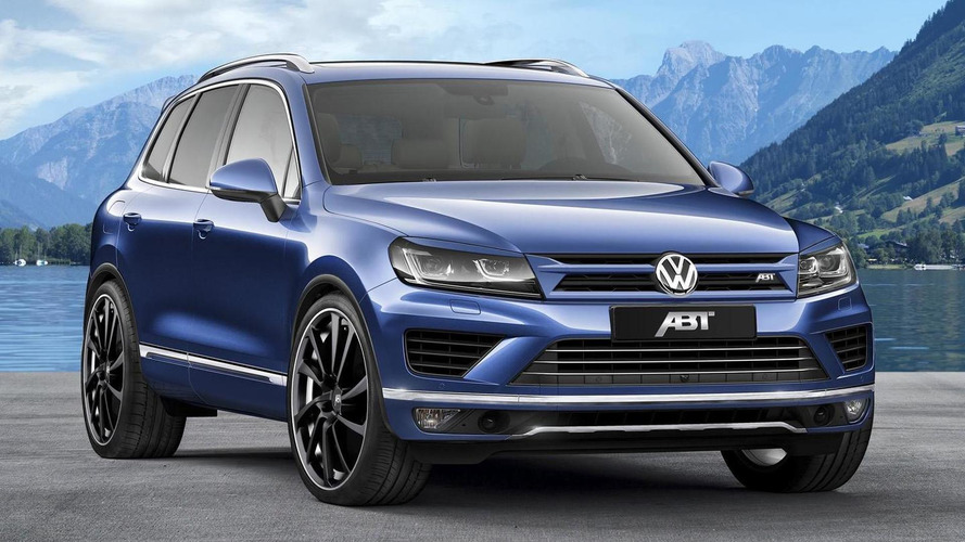 Volkswagen Touareg 3.0 TDI dialed to 290 PS by ABT