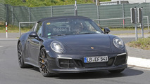 2017 Porsche 911 Targa GTS spy photo