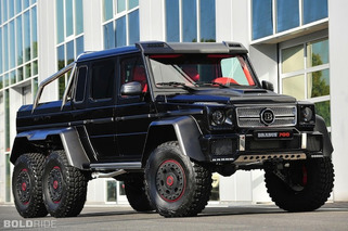 Brabus B63S 6x6 Mercedes Takes G-Class to Insane New Heights